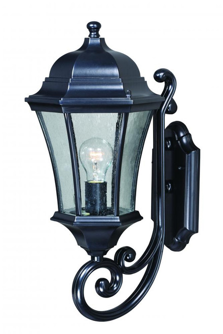 Aberdeen Black Outdoor Wall Light-T0301 by Vaxcel Lighting