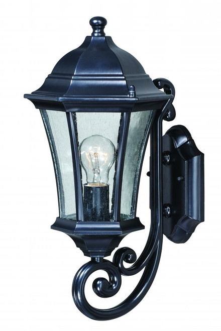 Aberdeen Black Outdoor Wall Light-T0300 by Vaxcel Lighting
