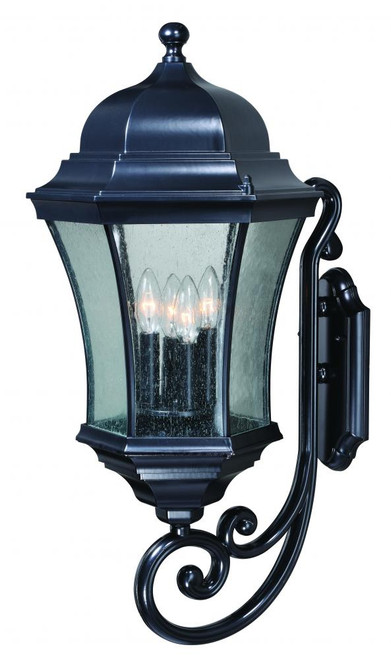 Aberdeen Black Outdoor Wall Light-T0302 by Vaxcel Lighting