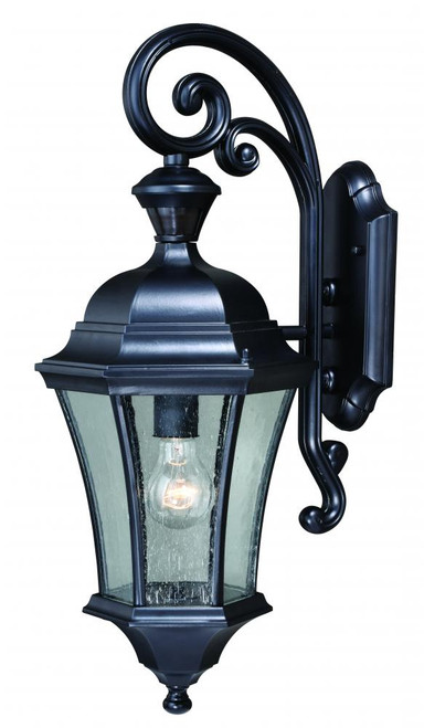 Aberdeen Black Outdoor Wall Light-T0320 by Vaxcel Lighting