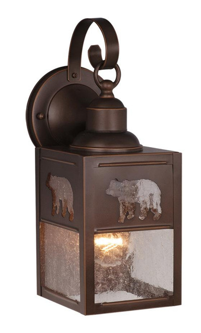 Bozeman Burnished Bronze Outdoor Wall Light-OW35053BBZ by Vaxcel Lighting
