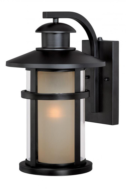 Cadiz Oil Rubbed Bronze Outdoor Wall Light-T0087 by Vaxcel Lighting