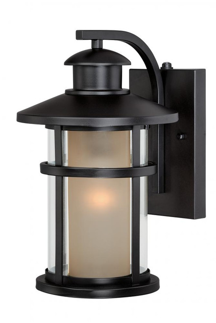 Cadiz Oil Rubbed Bronze Outdoor Wall Light-T0086 by Vaxcel Lighting