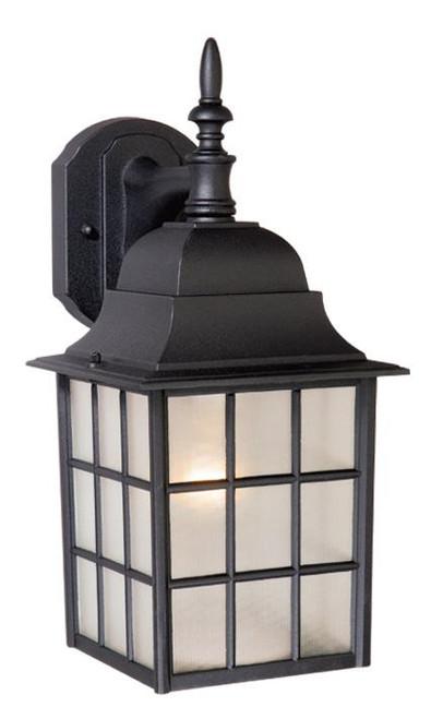 Vista Textured Black Outdoor Wall Light-OW36763TB by Vaxcel Lighting