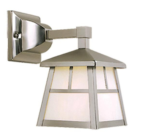Mission Stainless Steel Outdoor Wall Light-OW14663ST by Vaxcel Lighting