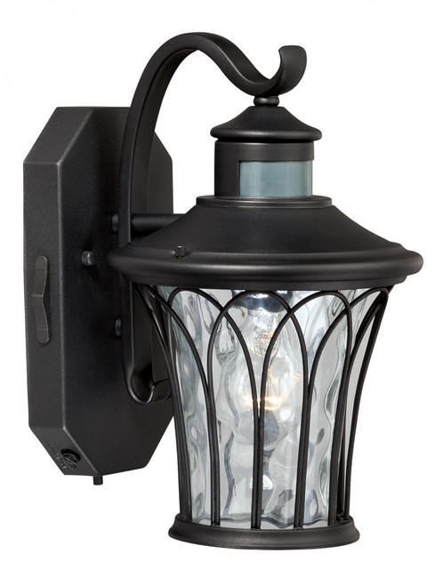 Abigail Textured Black Outdoor Wall Light-T0123 by Vaxcel Lighting