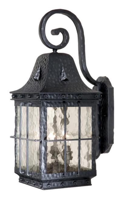 Edinburgh Textured Black Outdoor Wall Light-ED-OWD090TB by Vaxcel Lighting