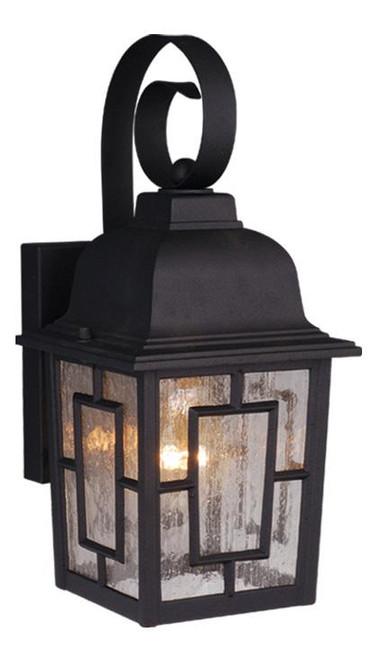 Vista Textured Black Outdoor Wall Light-OW37563TB by Vaxcel Lighting