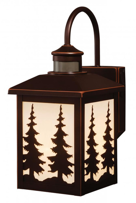Yosemite Burnished Bronze Outdoor Wall Light-T0183 by Vaxcel Lighting