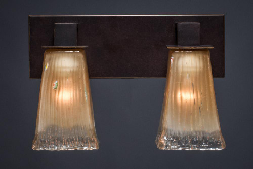 Apollo Dark Granite Bathroom Vanity Light-582-DG-630 by Toltec Lighting