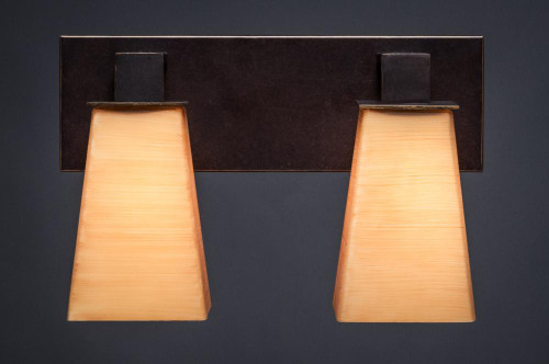 Apollo Dark Granite Bathroom Vanity Light-582-DG-670 by Toltec Lighting
