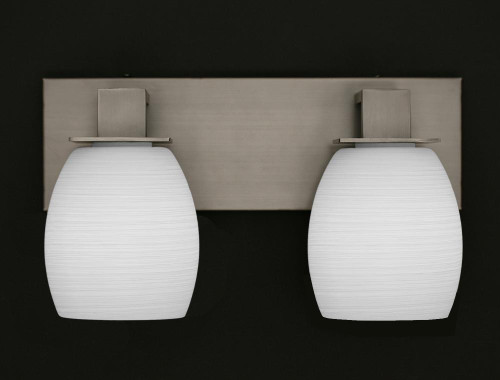 Apollo Graphite Bathroom Vanity Light-582-GP-615 by Toltec Lighting