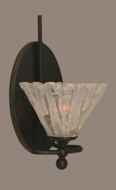 Capri Dark Granite Bathroom Vanity Light-591-DG-7195 by Toltec Lighting