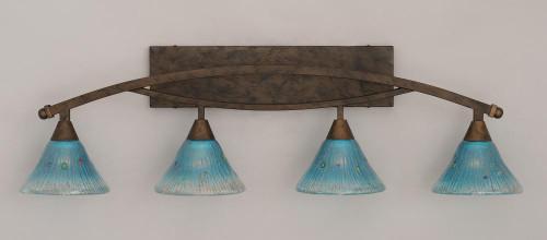 Bow Bronze Bathroom Vanity Light-174-BRZ-458 by Toltec Lighting