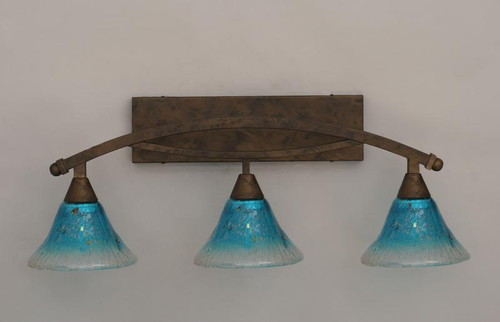 Bow Bronze Bathroom Vanity Light-173-BRZ-458 by Toltec Lighting