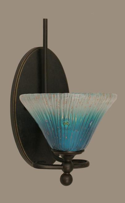 Capri Dark Granite Bathroom Vanity Light-591-DG-458 by Toltec Lighting