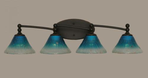 Capri Dark Granite Bathroom Vanity Light-594-DG-458 by Toltec Lighting