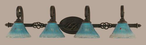 Elegante Dark Granite Bathroom Vanity Light-164-DG-458 by Toltec Lighting