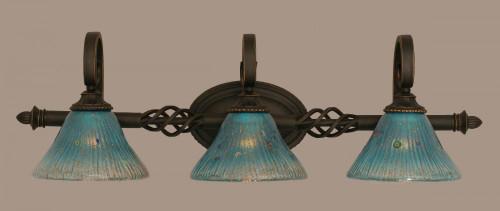 Elegante Dark Granite Bathroom Vanity Light-163-DG-458 by Toltec Lighting