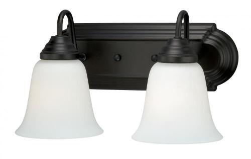 708 Series Oil Rubbed Bronze Bathroom Vanity Light-W0133 by Vaxcel Lighting