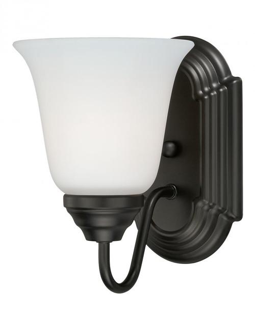 708 Series Oil Rubbed Bronze Bathroom Vanity Light-W0131 by Vaxcel Lighting