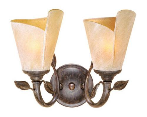 Capri Black Walnut Bathroom Vanity Light-CP-VLU002BW by Vaxcel Lighting