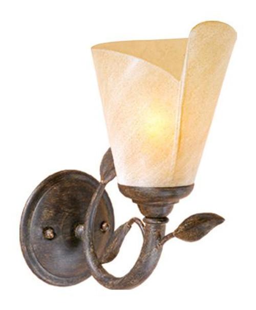Capri Black Walnut Bathroom Vanity Light-CP-VLU001BW by Vaxcel Lighting