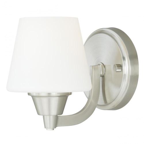 Calais Satin Nickel Bathroom Vanity Light-W0097 by Vaxcel Lighting