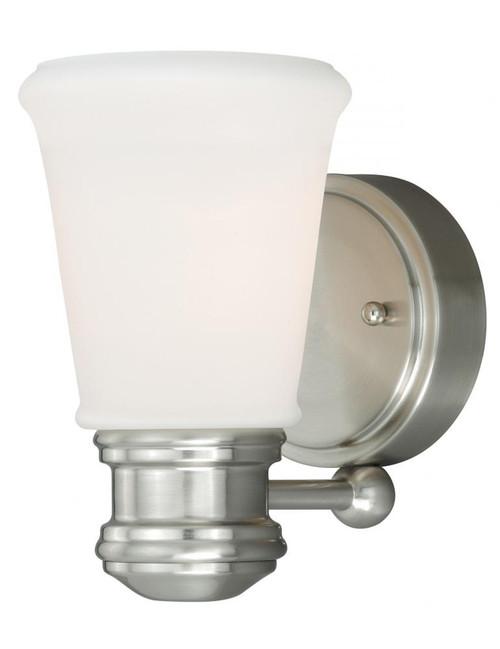 Malie Satin Nickel Bathroom Vanity Light-W0218 by Vaxcel Lighting