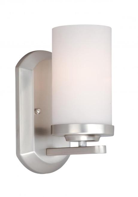 Oxford Brushed Nickel Bathroom Vanity Light-OX-VLU001BN by Vaxcel Lighting