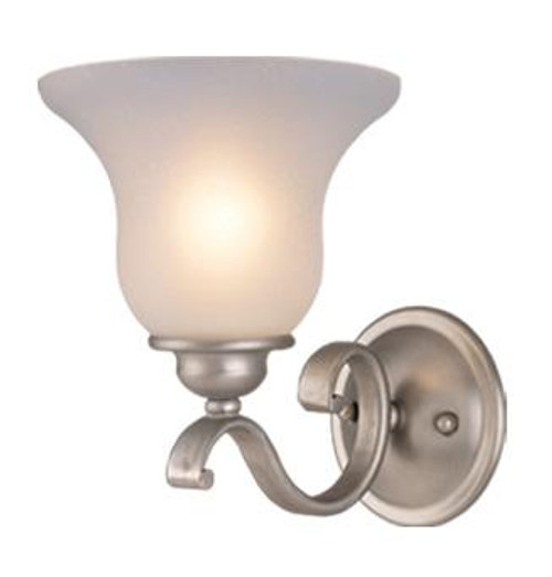Monrovia Brushed Nickel Bathroom Vanity Light-VL35401BN by Vaxcel Lighting