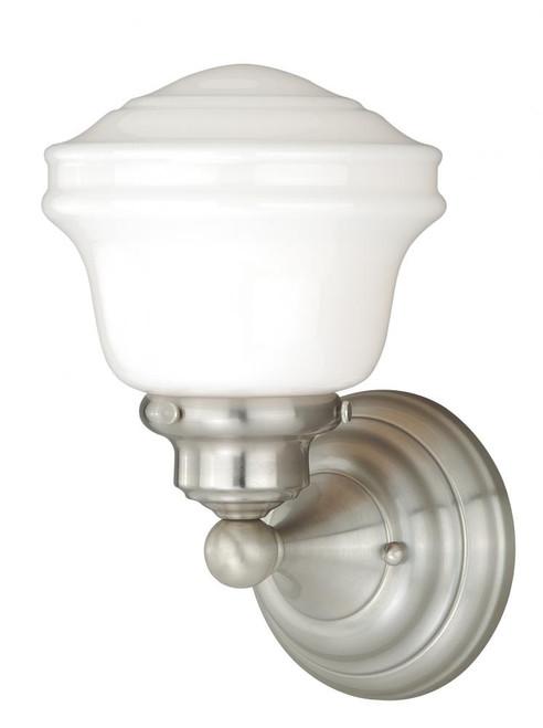 Huntley Satin Nickel Bathroom Vanity Light-W0167 by Vaxcel Lighting