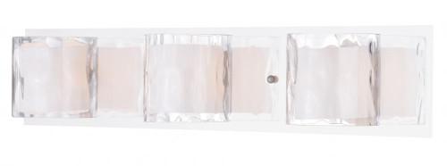 Vilo Stainless Steel Bathroom Vanity Light-W0244 by Vaxcel Lighting
