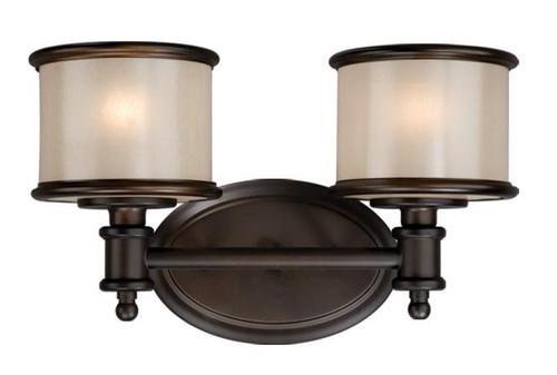 Carlisle Noble Bronze Bathroom Vanity Light-CR-VLU002NB by Vaxcel Lighting