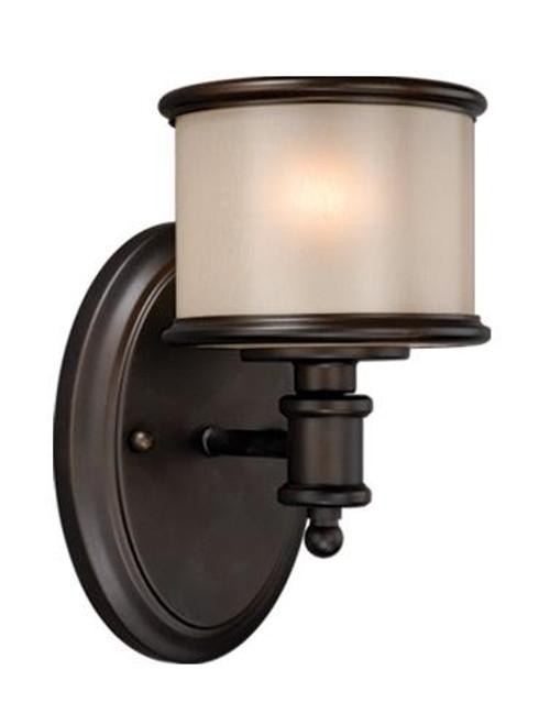 Carlisle Noble Bronze Bathroom Vanity Light-CR-VLU001NB by Vaxcel Lighting