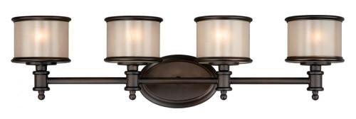 Carlisle Noble Bronze Bathroom Vanity Light-CR-VLU004NB by Vaxcel Lighting