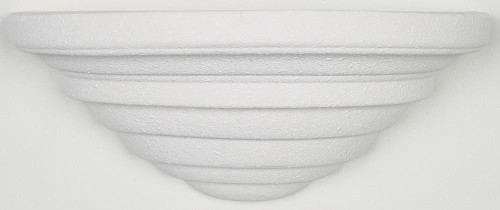Textured white Wall Sconce-F8992-29 by Sunset Lighting