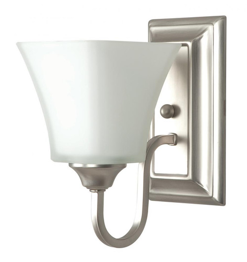 Satin Nickel Wall Sconce-F3681-53 by Sunset Lighting