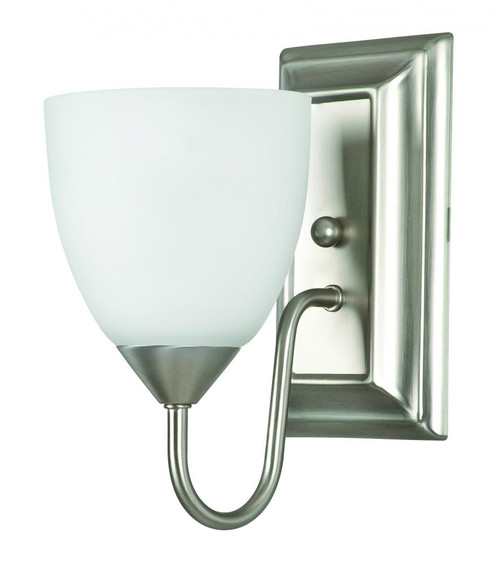 Cooper Satin Nickel Wall Sconce-F3621-53 by Sunset Lighting
