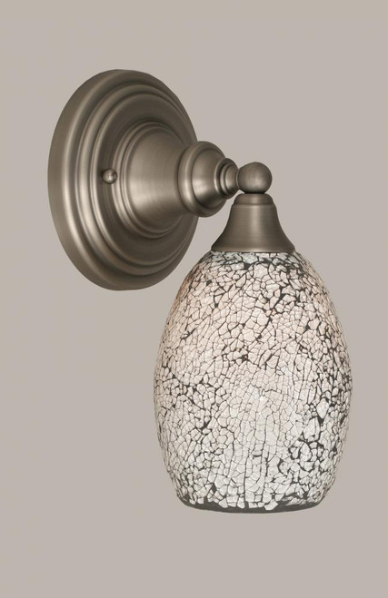 Brushed Nickel Wall Sconce-40-BN-4165 by Toltec Lighting