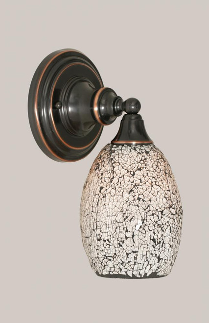 Black Copper Wall Sconce-40-BC-4165 by Toltec Lighting
