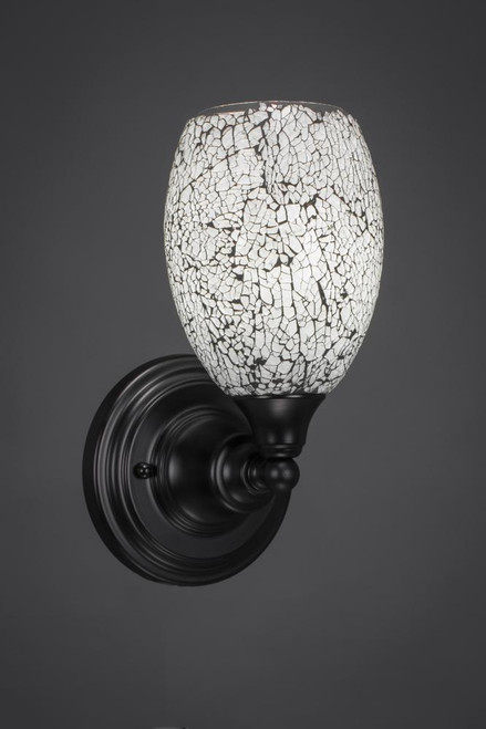 Matte Black Wall Sconce-40-MB-4165 by Toltec Lighting