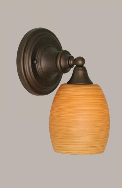Bronze Wall Sconce-40-BRZ-625 by Toltec Lighting