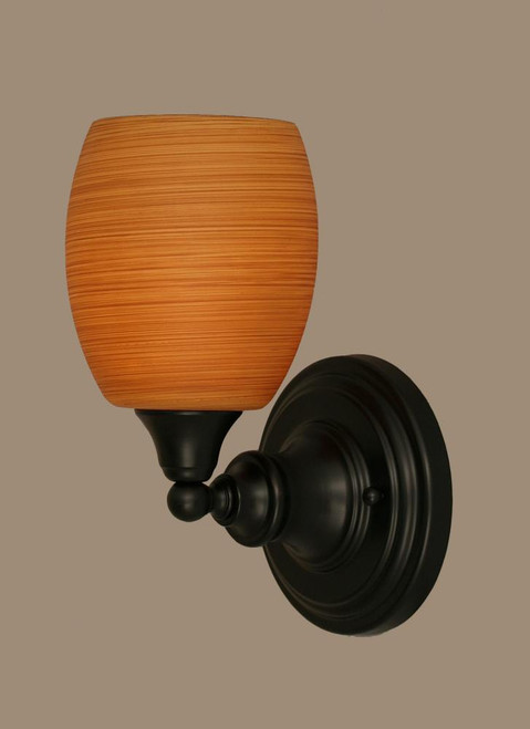 Matte Black Wall Sconce-40-MB-625 by Toltec Lighting