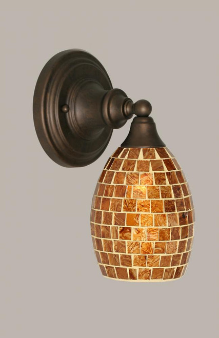 Bronze Wall Sconce-40-BRZ-409 by Toltec Lighting