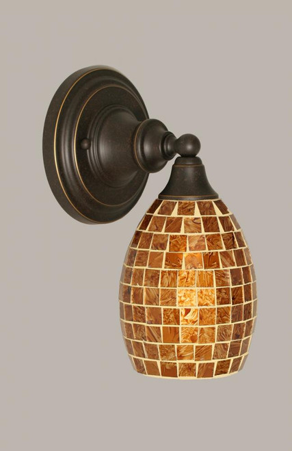 Dark Granite Wall Sconce-40-DG-409 by Toltec Lighting