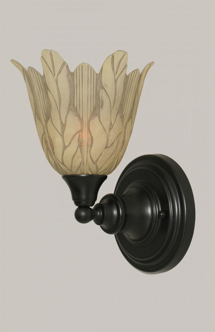 Matte Black Wall Sconce-40-MB-1025 by Toltec Lighting