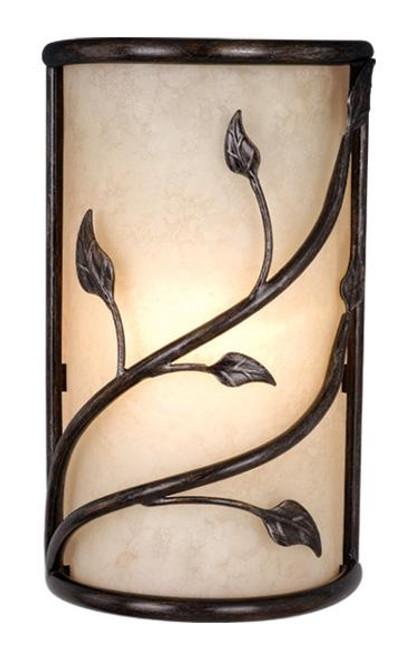 Vine Black Wall Sconce-WS38865OL by Vaxcel Lighting
