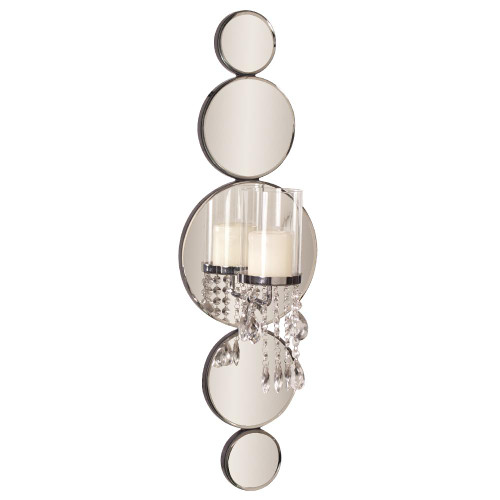 Mirrored Wall Sconce-99042 by Howard Elliott Home Goods