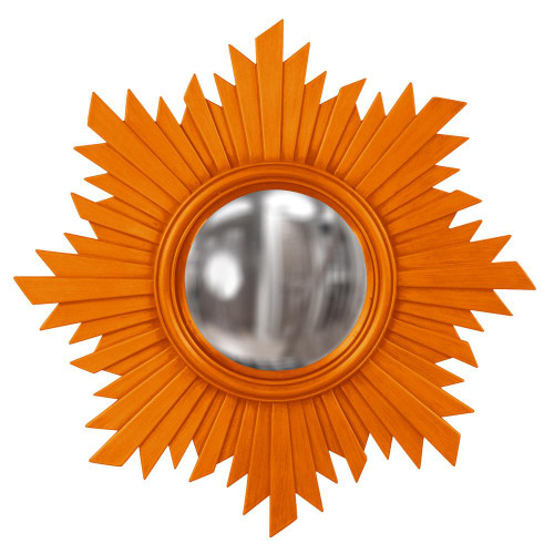 Euphoria Orange Mirror-51268O by Howard Elliott Home Goods